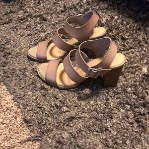 Old Navy block heel sandals